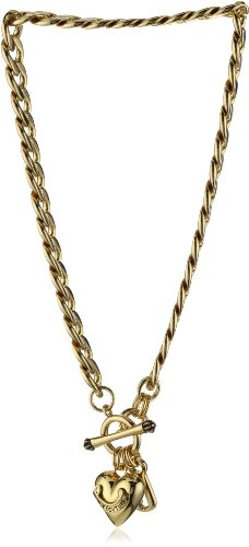 Juicy Couture Gold Starter Necklace Gold-Tone