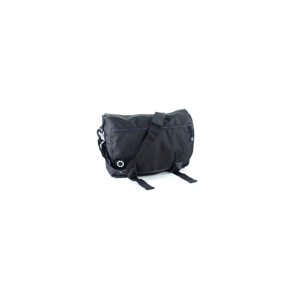 DadGear Basic Black Messenger Bag   TinyRide