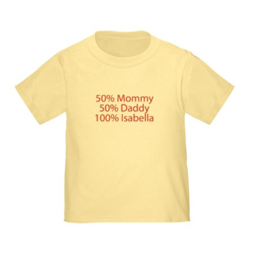 Personalized 100% Isabella Baby Infant Toddler Kids Shirt - Christmas Collection front-937924