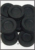 Charcoal for Incense: Pack of 10 Rounds (33mm)