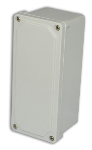 Allied Moulded Am943 Am Series Small Fiberglass Junction Boxes, Lift-Off Screw Cover