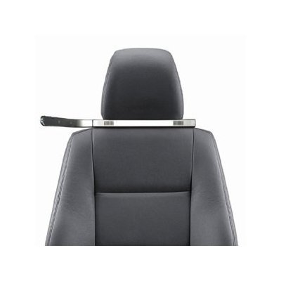 Classic Design Iqua Snake 2 Bluetooth Headrest Handsfree Car Kit -Hhf-601, Black For Apple Iphone, Palm Centro, Blackberry 8310 8320 Curve, 8100, 8120, 8130, 8800, 8830, Samsung M500, A707, I607, U520, U620, U740, U540, M620, A717, A727, R510, M510, T729,