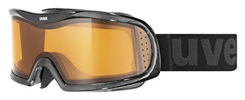 Skibrille Uvex Vision Optic I in black / Chrome