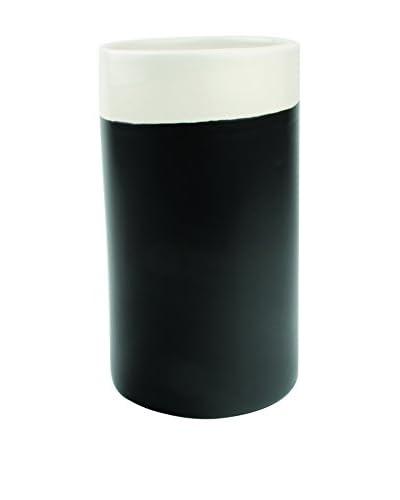 Canvas Home Chalkboard Utensil Holder, White/Black