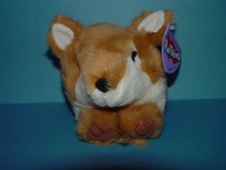 "Puffkins Swifty 4"" Plush Fox - 1"