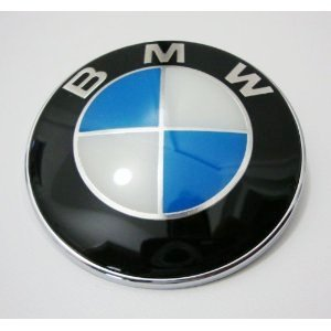 New 82mm Glossy Front Hood Rear Trunk Emblem Badge for Bmw Most Models Series (2008 Bmw Emblem compare prices)