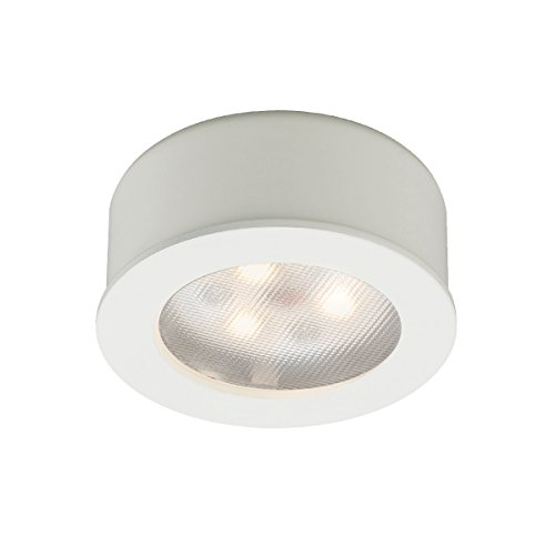 Wac Lighting Hr-Led85-Wt Led Round Button Lights 3X1W 3000K