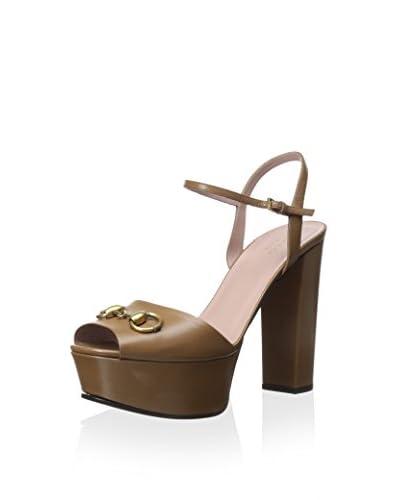 Gucci Women's Horse Bit Platform Sandal