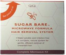 GIGI Sugar Bare Microwave Hair Removal Kit