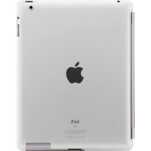 Belkin Snap Shield - Back Cover for Apple iPad 2 (CLEAR)