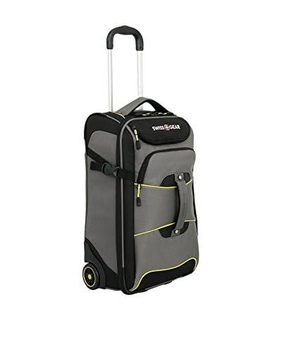 SwissGear Sierre II 21 Rolling Luggage Lift Backpack, Cement Gray/Black