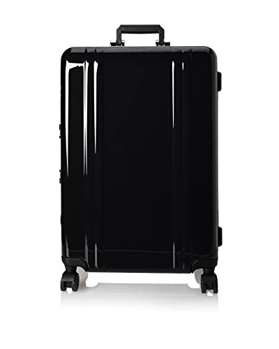 Zero Halliburton Classic Polycarbonate 26 Inch 4 Wheel Spinner Travel Case, Black