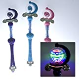 Princess Spinning Light Up Wand - Colors may vary