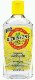Dickinson Witch Hazel Cleansing Astringent - 8 Oz