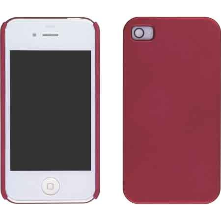 Wireless Solutions Brick House Red Color Click Case For Apple Iphone 4 Verizon
