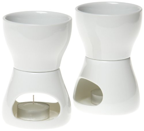 Norpro 213 Porcelain Butter Warmer, 2pc set