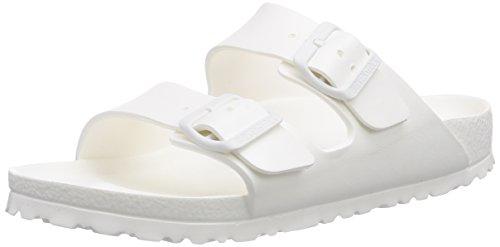 birkenstock-classic-arizona-eva-zuecos-de-goma-unisex-color-blanco-talla-36