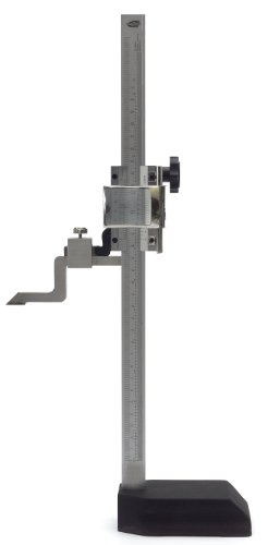 "Standard Gage 07734001 Vernier Scribing Height Gauge, 0-12"" Measuring Range front-33573"