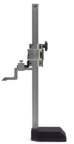 "Standard Gage 07734001 Vernier Scribing Height Gauge, 0-12"" Measuring Range"