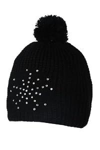 Icepeak Bonnet de ski Femme noir