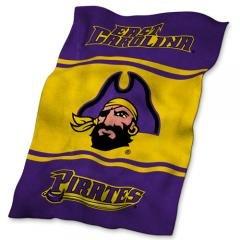 East Carolina Pirates NCAA UltraSoft Fleece Throw Blanket by NCAA