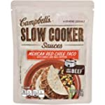 Campbells Slow Cooker Mexican Red Chi...