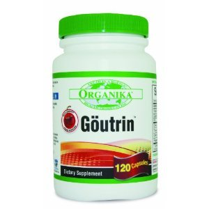 Goutrin -Uric Acid Neutralizer for Gout (120 Capsules) Brand: Organika