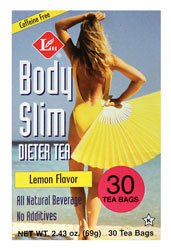 Uncle Lees Body Slim Dieter Tea, Lemon Flavor - 1 X 30 Tea Bags