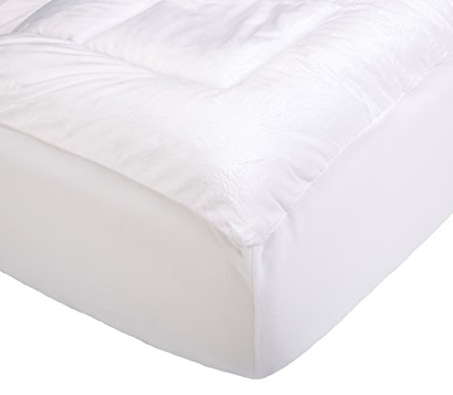 Cheap Pinzon Overfilled Microplush Mattress Pad - King