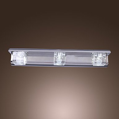 contemporains luminaires en cristal accent mur avec 3 lumiššres conception cube