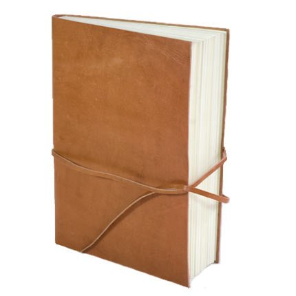 Rustic Leather Travel Journal - Fair Trade