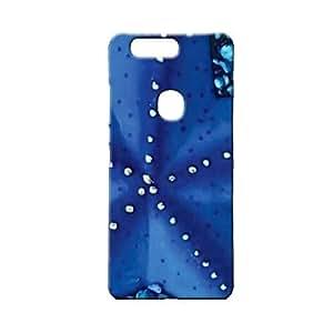 BLUEDIO Designer 3D Printed Back case cover for Huawei Honor V8 - G4799