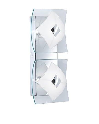 WOFI Wand- und Deckenlampe Luv chrom