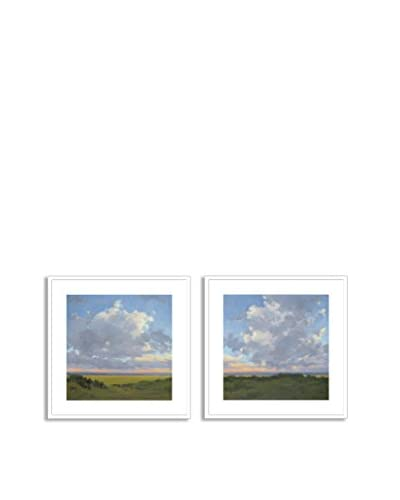 Gallery Direct Afternoon Sky I & II Set