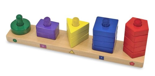 Melissa & Doug Stack & Sort Board Picture