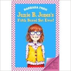 junie b jones 39 s second boxed set ever books 5 8 box set paperback barbara park author. Black Bedroom Furniture Sets. Home Design Ideas