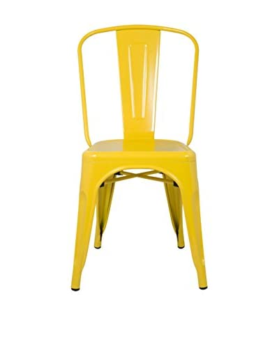 Manhattan Living Talix Chair, Yellow
