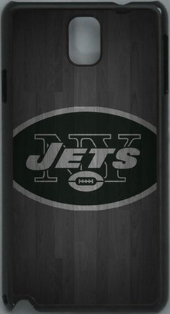 =>>  NFL New York Jets Wood Look PC Hard Shell Black Skin Cover Case for Samsung Galaxy Note 3 N9000 by Qinchao Sports #59