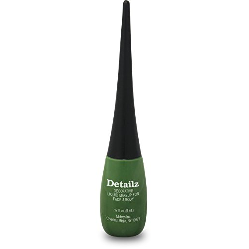 Mehron Paradise Detailz Face Paints - Green G (0.17 oz/5 ml) - 1