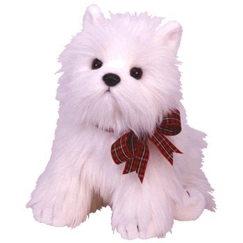 TY Classic Plush - MACDOUGAL the White Dog - 1