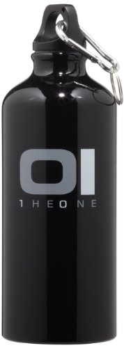 01TheOne Black Logo Sport Water Bottle, 18 FL.OZ01TheOne Black Logo Sport Water Bottle, 18 FL.OZ