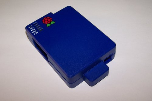 Cyntech Case With Sd Cover For Raspberry Pi - Blue