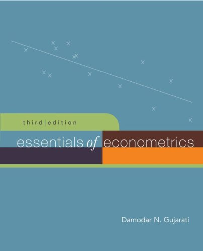Essentials of Econometrics + Data CD