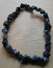 Hand Made Bracelet with Semi Precious Stone - Sodalite Beads of Blue Colour - Beautiful