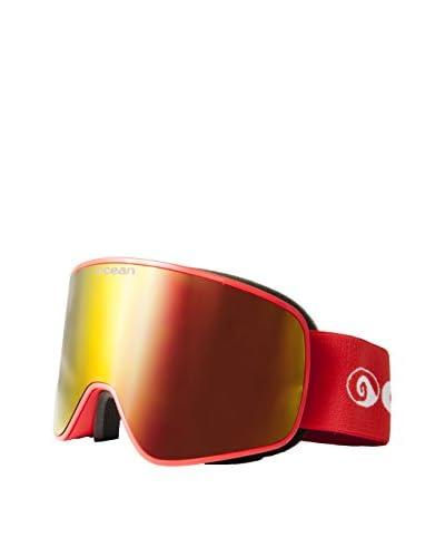 Ocean Occhiali da Neve Aspen Rosso