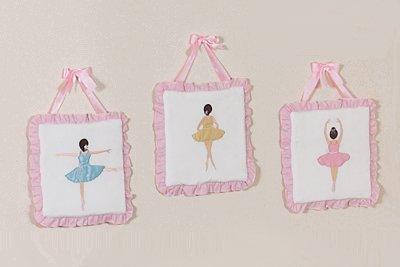 Ballet Dancer Ballerina Wall Hanging Accessories by JoJo Designs