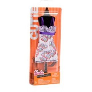 Barbie Fashionistas ~ CUTIE ~ Trendy Rainbow Dot Dress ~ Spring 2011 - 1