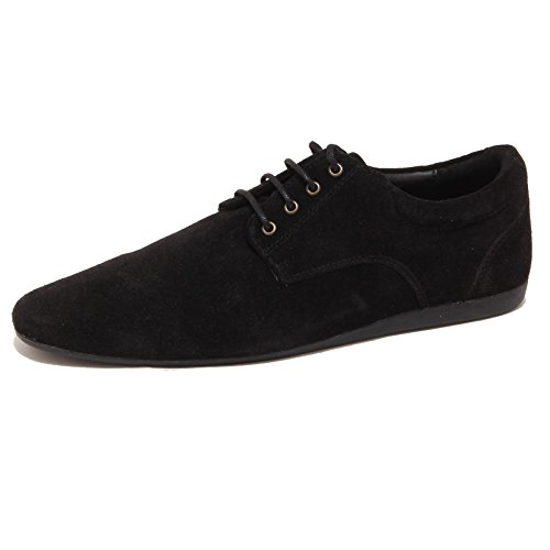 80754 scarpa NERO SCHMOOVE FIDJI NEW DERBY calzatura uomo shoes men [42]