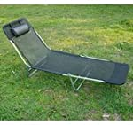Outsunny Adjustable Reclining Beach S...
