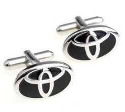 Cheap Toyota Car Logo Cufflinks Cuff Link (Cufflinks)